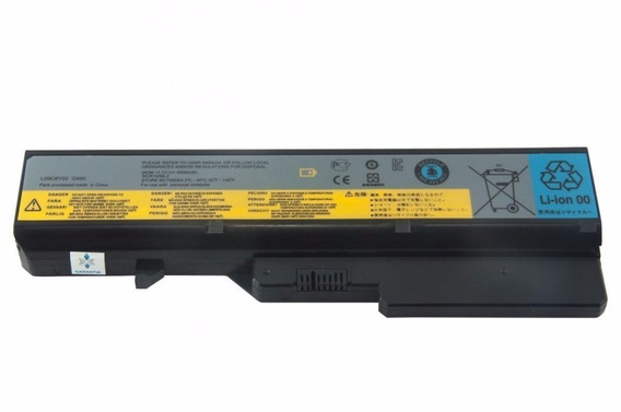 Bateria Notebook - Lenovo Ideapad G460 20041 - Preta