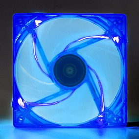 Cooler Fan Pc Gamer 120mm Led Azul Ventoinha Dx-12l