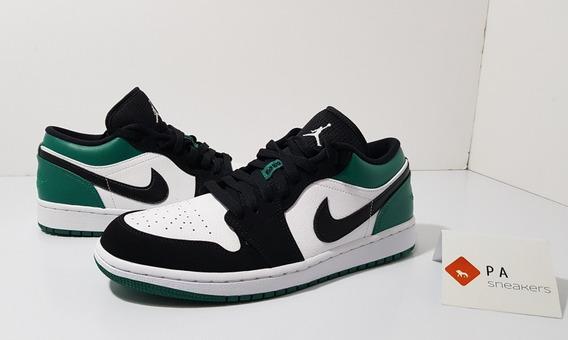 Tênis Air Jordan 1 Low Mystic Green