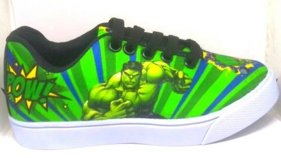 Tênis Hulk Tam 25 Ao 34.l