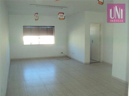 Sala  Comercial Para Locação, Utinga, Santo André. - Sa0010