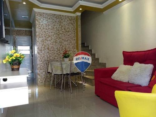 Imagem 1 de 30 de Casa Com 2 Dormitórios À Venda, 63 M² Por R$ 190.000,00 - Guaratiba - Rio De Janeiro/rj - Ca0698