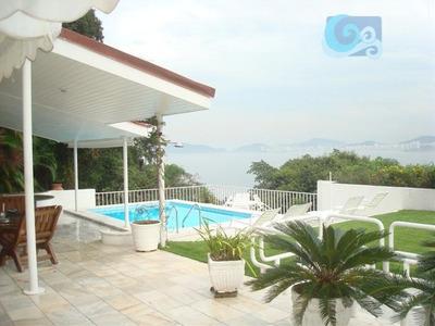Casa À Venda - Condomínio Península - Praia Da Enseada - Guarujá. - Ca0493