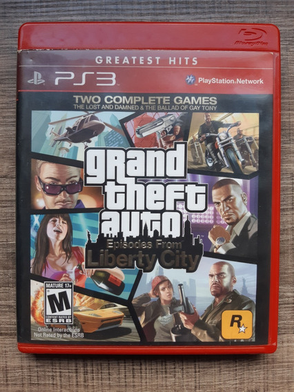 Gta Liberty City Ps3 Playstation 3 Mídia Física
