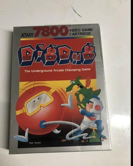 Atari Digdug Underground Arcade 7800 Lacrado Cartucho 1997