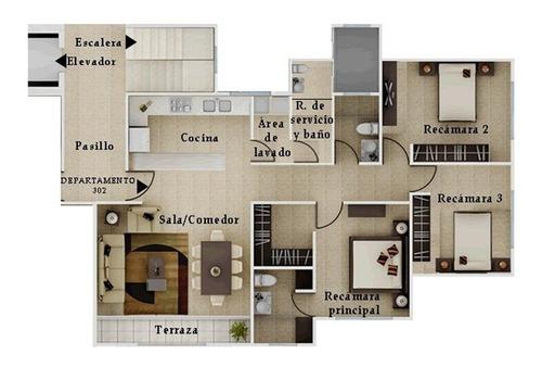 Departamento En Renta En Lomas De Angelópolis, Vista Marquez