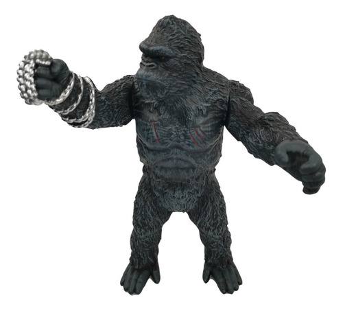 Imagen 1 de 5 de King Kong Figura Articulada Colección 29cm Juguete Pelicula