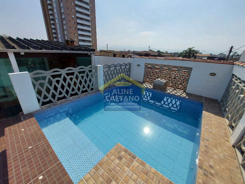 **conforto Na Guilhermina** Casa3dorms/1suíte/piscina R$469 Mil - Vext128