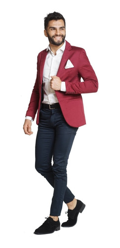 Pantalones Gabardina Chupines Casuales Vestir-quality Import