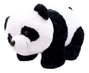 Urso Panda Pelúcia 47cm Em Quatro Patas Fofy Toys