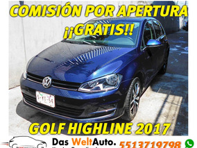 Volkswagen Golf 1.4 Highline Dsg 2017 Seminuevo