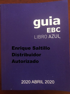 Libro Azul Guia Ebc Edicion Actual+reciente Envio Incluido