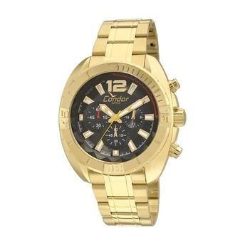 Relógio Condor Masculino Dourado
