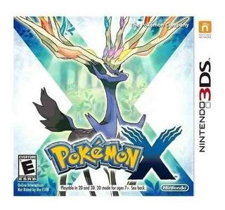 Juego Pokémon X N3ds