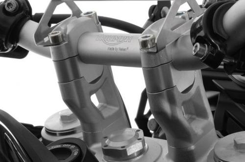 Imagem 1 de 1 de Riser Elevador De Guidão 20mm P/ Triumph Tiger 800 Até 2014