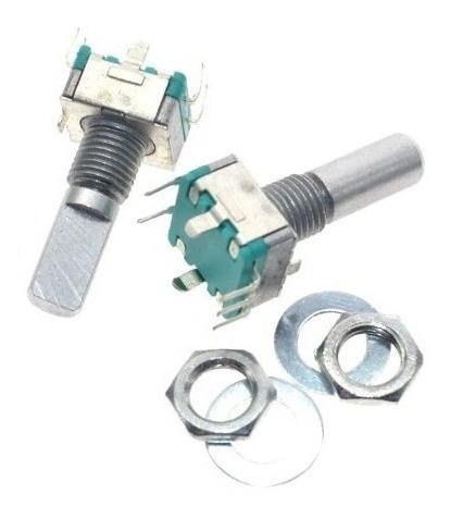 10 Peças Encoder Rotativo Ec11 - Haste 15mm - Modelo Half