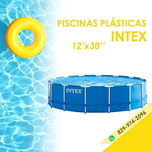 Piscina Intex 12x30 De Tubos