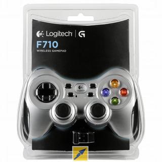 Logitech F710 Wireless Gaming Joystick Gamepad Pc Usb Gamer
