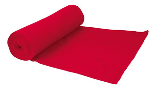 Franela De Algodon En Rollo 50 M Color Rojo Klintek 57002