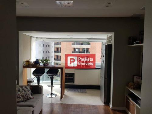 Apartamento Com 1 Dormitório À Venda, 37 M² Por R$ 610.000 - Brooklin - São Paulo/sp - Ap27831