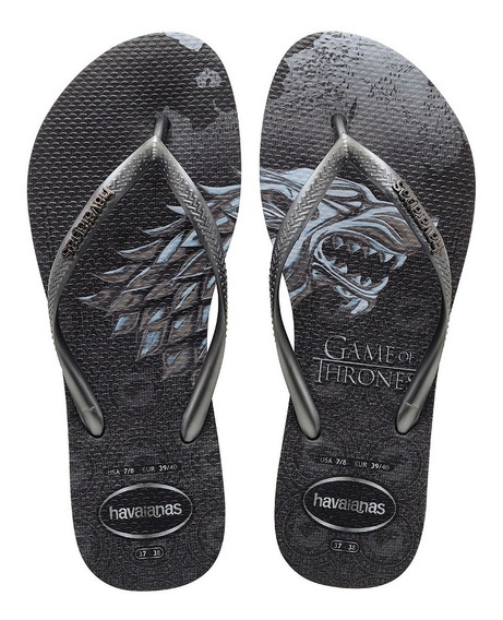 Chinelo Feminino Havaianas Slim Game Of Thrones Original