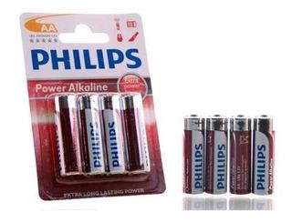 Pila Philips Alcalina Aa Blister X 4 Pilas