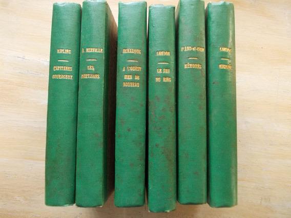 Livro Erich Remarque Jack London Roger Mathieu 6 Vol Francês