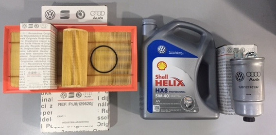 Kit Filtros ( Aire Ac Comb ) + Aceite Volkswagen Bora Tdi