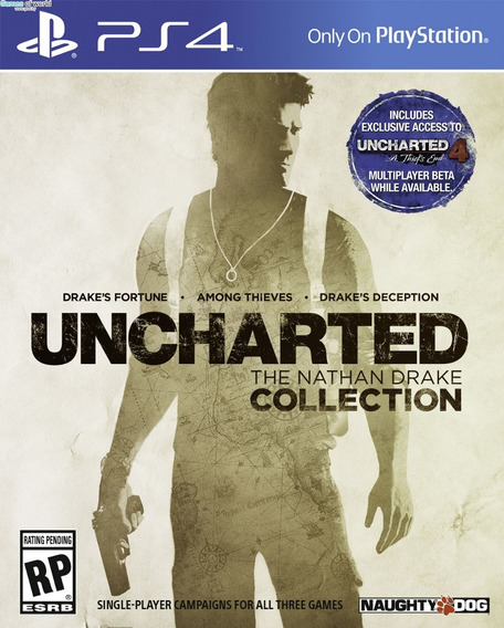 Uncharted Collection Hd - Ps4 - Digital - Español Latino