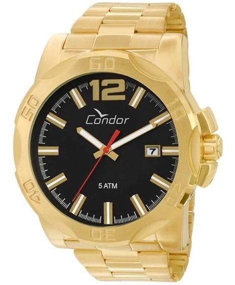 Relógio Condor Masculino Co2415aa/4p, C / Garantia E Nf