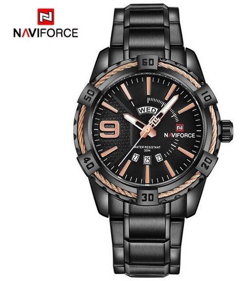 Relógio Naviforce 9117 Na Caixa Com Garantia De 1 Ano