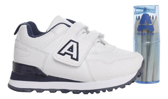 Zapatillas Addnice Baby Classic R.abrojo + Lapicero Bl/az