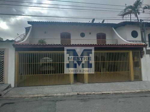 Sobrado Com 3 Dormitórios À Venda, 352 M² Por R$ 1.600.000,02 - Parque Renato Maia - Guarulhos/sp - So0482