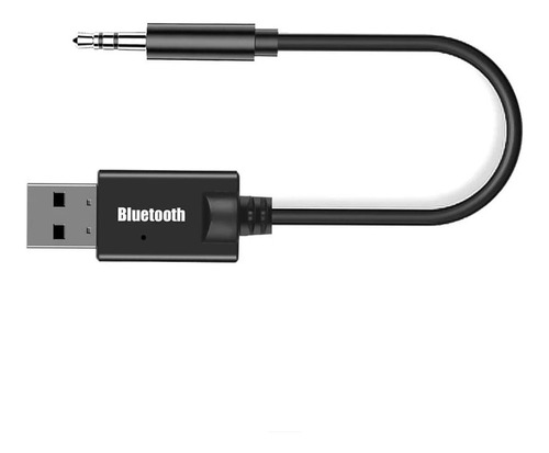 Adaptador Receptor Bluetooth Para Carro Con Cable 3.5