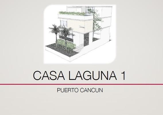 Casa Y Terreno En Preventa 3 Recámaras En Lagunas Puerto Cancun. Con Proyecto De Construcción