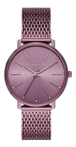 Relógio Michael Kors Pyper Feminino Lilás Mk4524/1gn