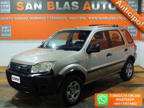 Sba Anticipo! Ford Ecosport 2007 1.6 N Xl Plus 4x2 5p Mp3 Dh