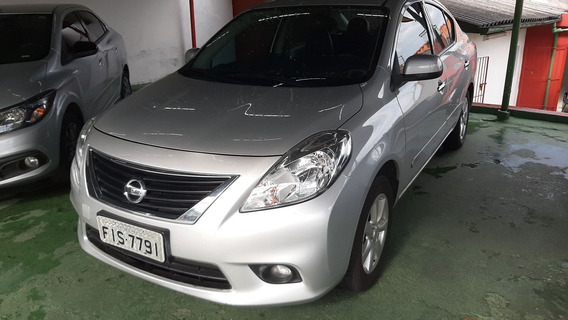 Versa Sl 2014 Prata/1.6 /impecavel/top/km 51000