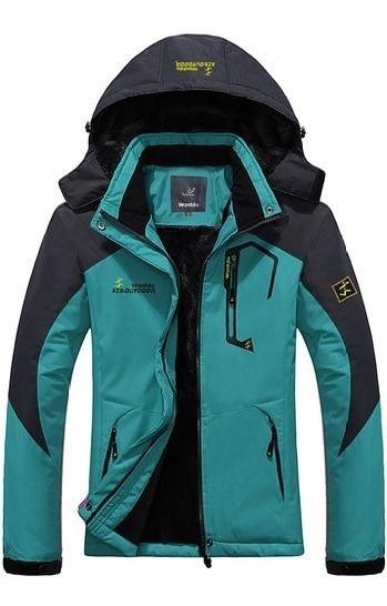 Chamarra Alpina Dama Mujer Parka Termica Nieve Frio Xtremos