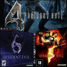 Kit Terror Resident Evil Ps3 Mídia Digital