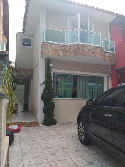 Lindo Sobrado De 03 Dorms, 02 Suites, 140m², Campo Limpo