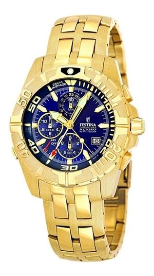 Reloj Festina Dorado Chrono