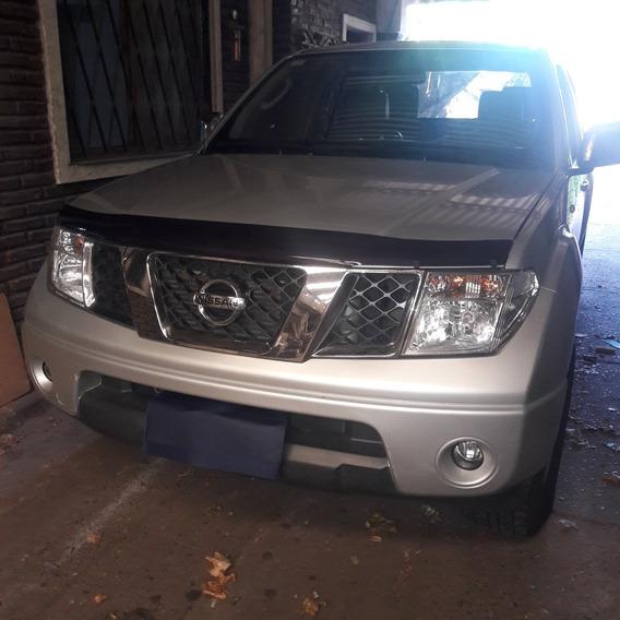 Nissan Frontier 2.5 Le Cab Doble 4x4 Tap. Cuero 2011