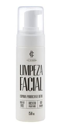 Limpeza Facial Espuma Purificante Detox Cia Da Barba 150ml