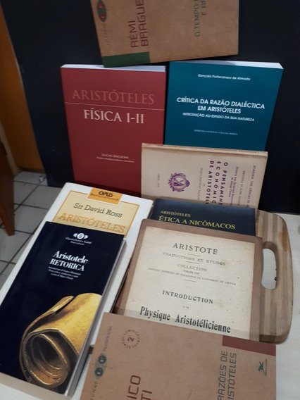 Lote 15 Livros Aristóteles Aristotle Obras Coleção Filosofia