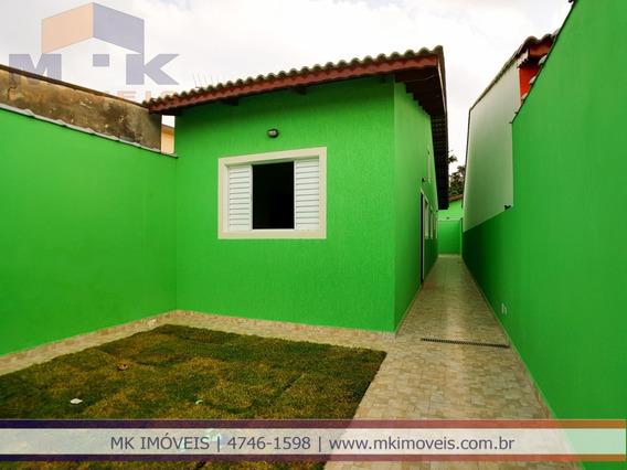 Casa Nova Com 2 Dorm Sendo 1 Suíte Em Suzano/sp - 819