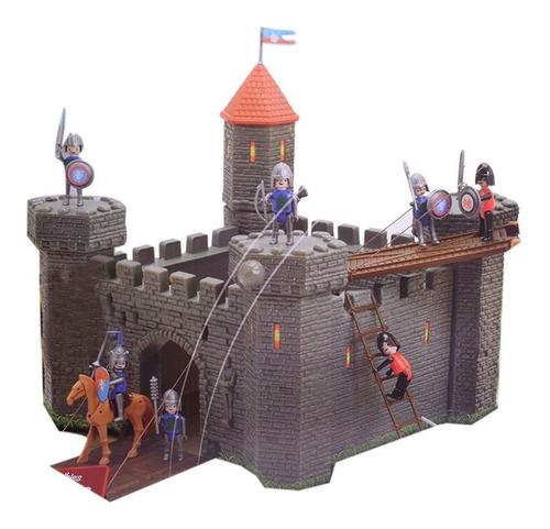 El Duende Azul Ataque A La Fortaleza Medieval 10fig Jlt 6445