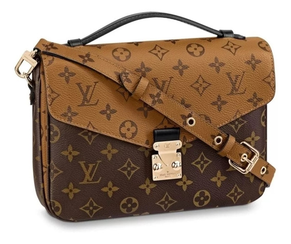 Bolsa Louis Vuitton Pochete Metis Monogram Reverse Canvas