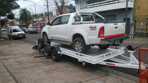 Imagen 1 de 4 de Trailer Para Camionetas Y Autos 3500kg Cat02 Homologado