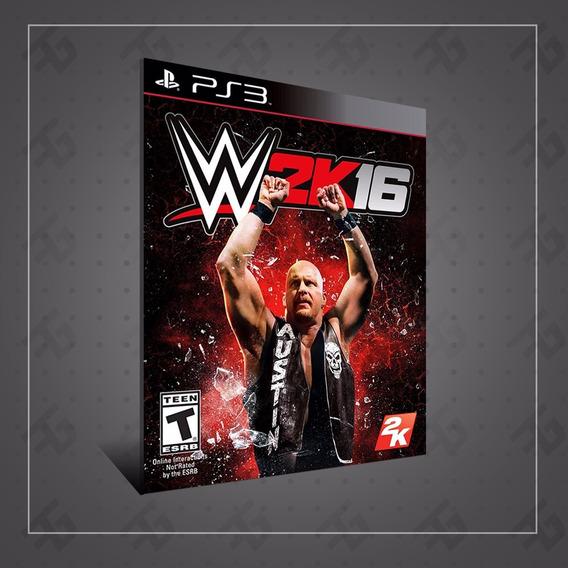 Wwe 2k 16 - Mídia Digital - Playstation 3